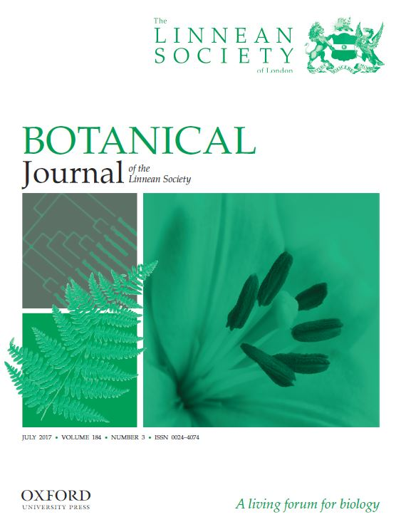 Botanical Journal of the Linnean Society cover