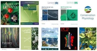 Oxford Journals Plant Science covers